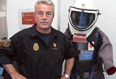 El ex comisario jefe de los Tedax Juan Jesús Sánchez Manzano.