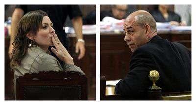 Fernando Torres Buena y su exmujer, ambos condenados por la trama de delitos sexuales a menores.