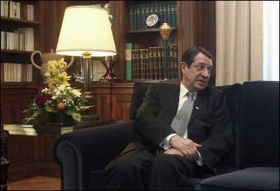 El presidente chipriota, Nikos Anastasiadis, el pasado 11 de marzo de 2013.