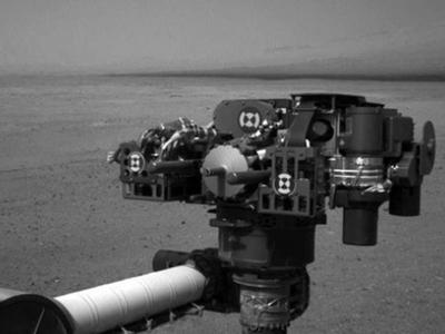 El robot Curiosity en Marte. EFE