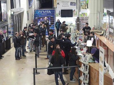 Cajas de la Fnac Callao de Madrid-