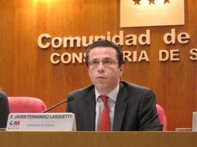 El consejero de Sanidad de Madrid, Javier Fernández Lasquetty. EP
