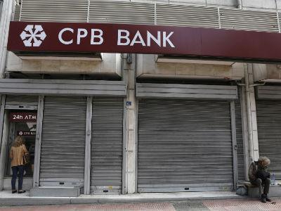 Una sucursal del segundo banco más importante de Chipre, el Cyprus Popular. -REUTERS
