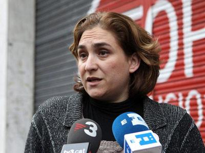 Ada Colau, hace unos días. EFE/Toni Garriga
