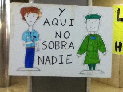 El Puerta de Hierro pierde a 400 empleados por la privatización de los servicios no sanitarios