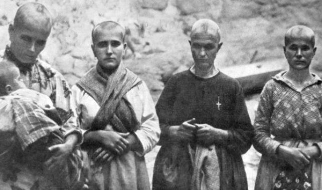 Mujeres víctimas de la represión franquista 'Las rapadas'