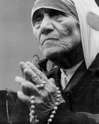 La Madre Teresa.