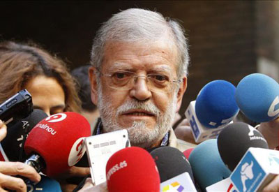 El expresidente de Extremadura y dirigente del PSOE, Juan Carlos Rodríguez Ibarra.