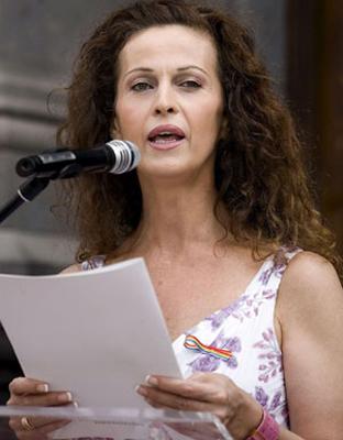 Carla Antonelli es una de las principales activistas del colectivo Trans. EFE