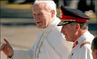El Vaticano colaboró con EEUU apoyando el golpe <br>de Estado de Pinochet