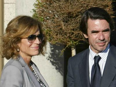La acaldesa de Madrid, Ana Botella,y el expresidente del Gobierno, José María Aznar, en una imagen de archivo.
