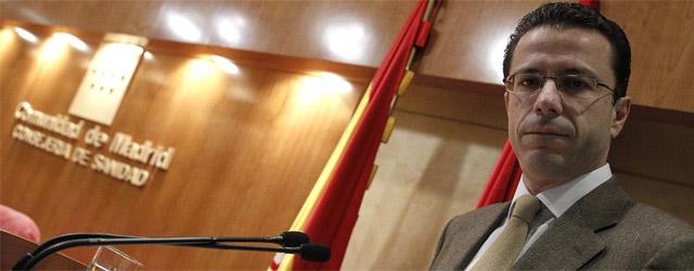 El consejero de sanidad de la Comunidad de Madrid, Javier Fernández Lasquetty.