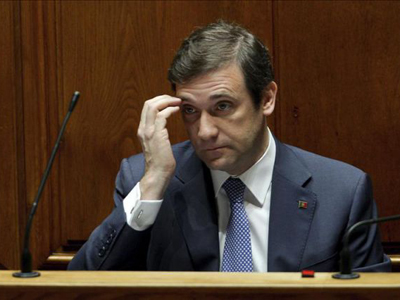 El primer ministro luso, Pedro Passos Coelho.