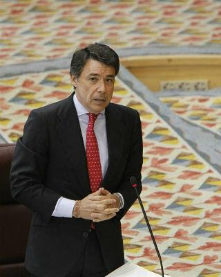 El presidente de la Comunidad de Madrid, Ignacio González, en el Pleno de la Asamblea. EFE