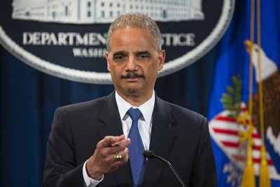 El fiscal general de EEUU, Eric Holder. - EFE