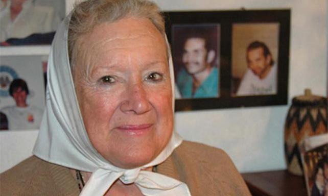 Nora Cortiñas, presidenta de Madres de Plaza de Mayo Línea Fundadora.
