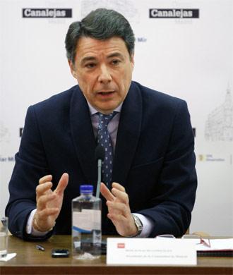 El presidente de la Comunidad de Madrid, Ignacio González.- Europa Press