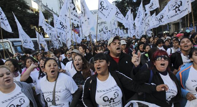 Celebraciones en Argentina por la revolución de 1810 y los 10 años de Kirchnerismo. EFE