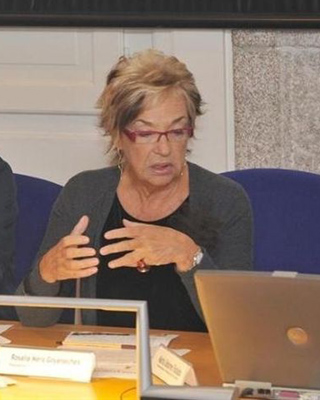 Rosalía de Mera, presidenta de la Fundación Paidea.