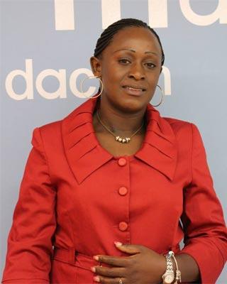 La periodista y activista congoleña, Caddy Adzuba. FUNDACIÓN MAINEL