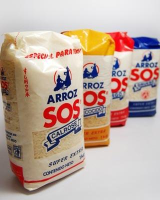 El arroz SOS es una de los productos más conocidos del grupo Ebro Foods, el más grande del sector de la alimentación en España por nivel de facturación.