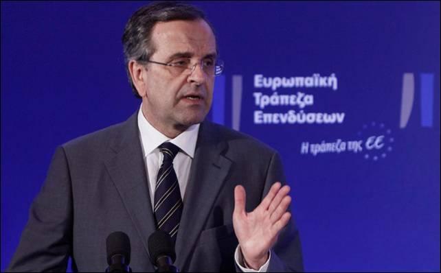El primer ministro griego, Andonis Samarás.- Reuters