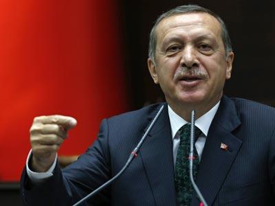 El primer ministro Erdogan en el Parlamento (Ankara, 11 de junio de 2013). REUTERS/Umit Bektas
