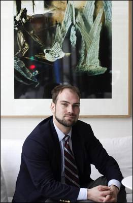 David Stuckler, en Madrid. JAIRO VARGAS