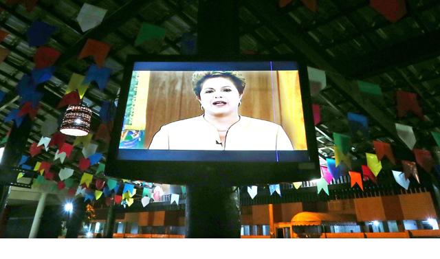 La última encuesta ha sido un mazazo para Dilma Rousseff. FOTO: ANTONIO LACERDA (EFE)