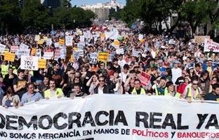El Congreso deberá debatir una reforma constitucional del 15M