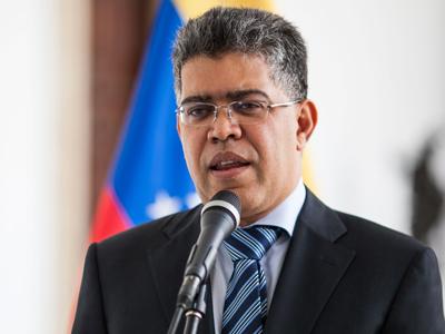 El ministro de relaciones exteriores de Venezuela, Elías Jaua.- EFE