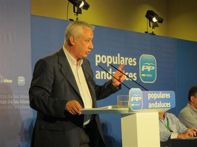 Exsecretario general del PP, Javier Arenas. EUROPA PRESS