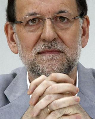 Rajoy, hoy. EFE/Juan Carlos