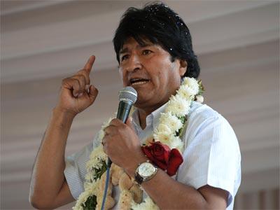 El presidente de Bolivia, Evo Morales. REUTERS