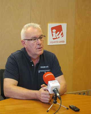 El líder de Izquierda Unida, Cayo Lara.- EUROPA PRESS