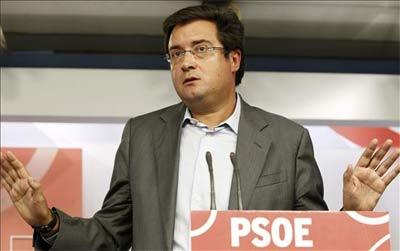 El secretario de Organización del PSOE, Óscar López.
