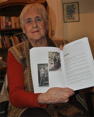 La investigadora y periodista argentina, Stella Calloni.
