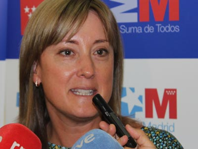 La viceconsejera de Sanidad en la Comunidad de Madrid, Patricia Flores, 20 de agosto de 2013. Alejandro López de Miguel