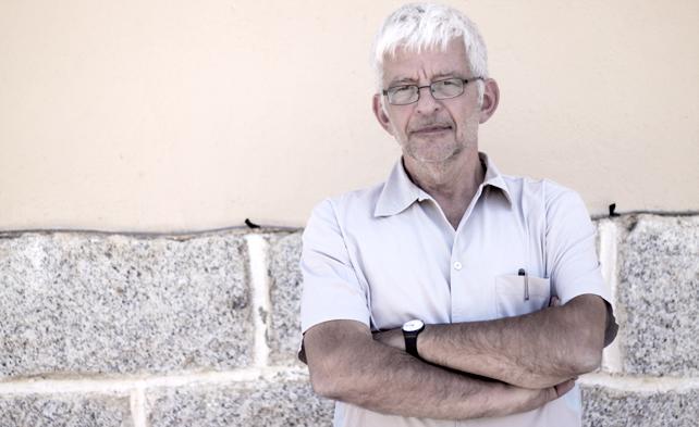 El economista y estadista francés, Michel Husson durante la IV Universidad de Verano de Izquierda Anticapitalista. -JAIRO VARGAS