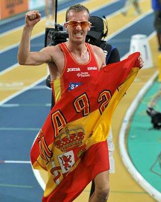 El atleta suspendido Sergio Sánchez.