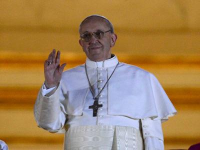 El papa Francisco, el día de su nombramiento.- EFE/Archivo