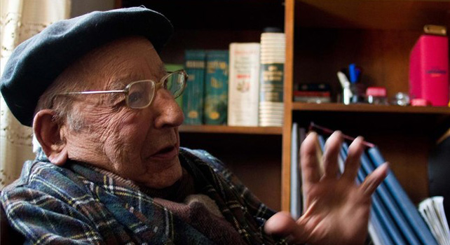 Aquilino Gómez Fernández, uno de los guerrilleros que participó en el intento de invasión de España a través de Asturias.- DANIEL RIVAS / GUILLERMO RIVAS
