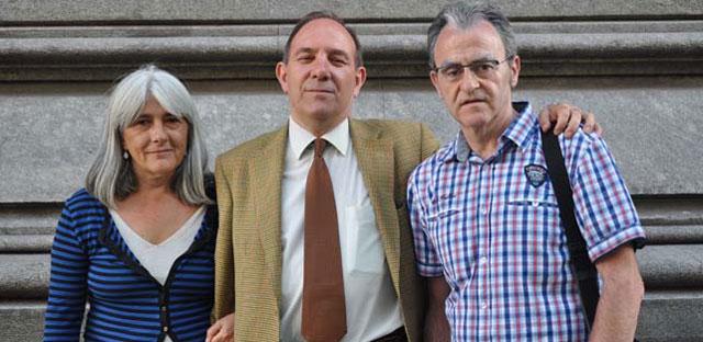 Merçona Puig Antich, Pablo Mayora y Andoni Txasko.