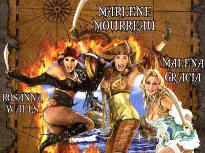 Imagen del cartel de la revista 'Vuelven las Corsarias'