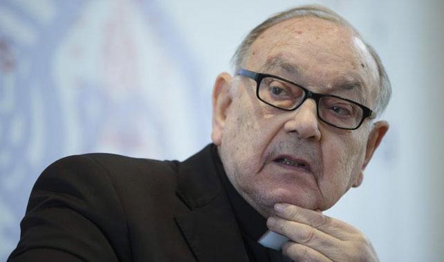 El nuevo cardenal de la Iglesia católica y anterior arzobispo emérito de Pamplona y Tudela, Fernando Sebastián Aguilar.