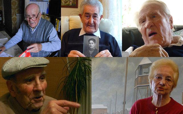Fotografías facilitadas por Montserrat Llor, autora del libro 'Vivos en el averno nazi'
