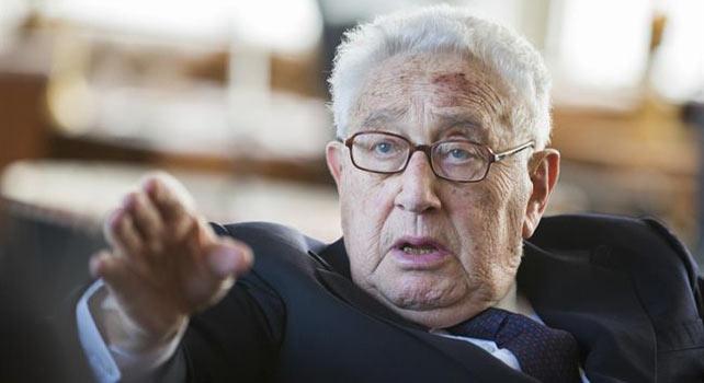 Henry Kissinger, exsecretario de Estado de EEUU.