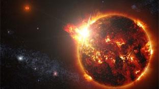 La NASA detecta la <br>erupción solar más caliente <br>y de mayor duración en <br>una estrella enana roja