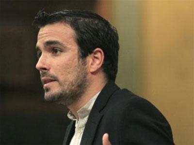 El diputado de IU, Alberto Garzón / EFE