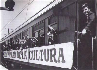 El tren popular de la cultura de Allende